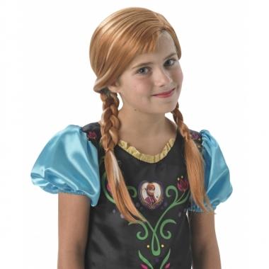 Frozen pruik anna voor kinderen prijs