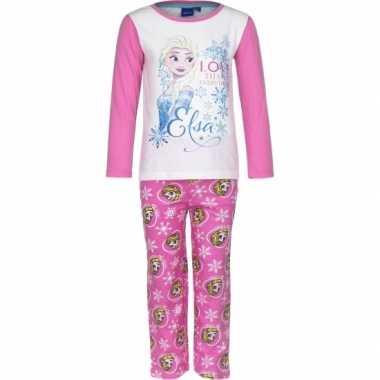 Frozen pyjama in het roze prijs