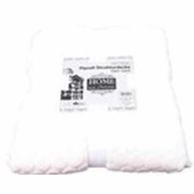 Gebroken witte nepbont/pluche grote deken/plaid 150 x 200 cm prijs