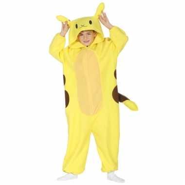 Vergelijk geel anime kostuum voor kinderen prijs