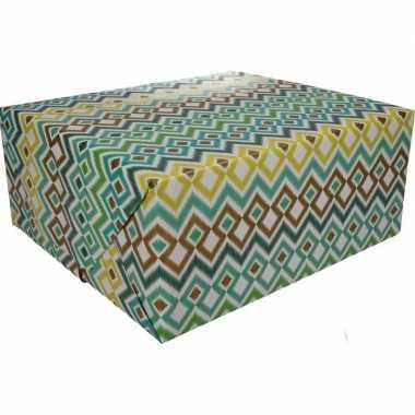 Gekleurd cadeaupapier 70 x 200 cm type 3 prijs