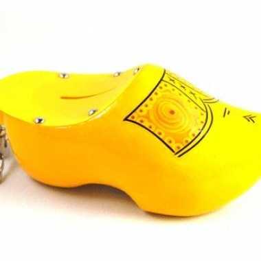 Gele klomp spaarpot 16 cm prijs