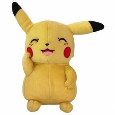 Gele pikachu pokemon knuffels 30 cm prijs