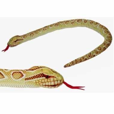 Gevlekte python slangen knuffels 150 cm knuffeldieren prijs