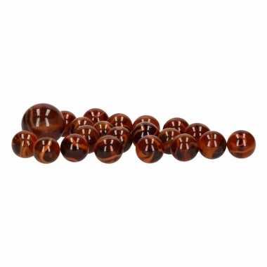 Glazen knikkers speelgoed 40x orangutan prijs