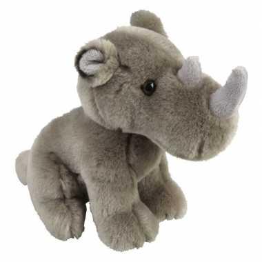 Grijze neushoorns knuffels 18 cm knuffeldieren prijs