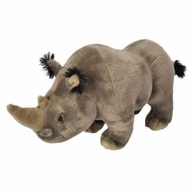 Grijze neushoorns knuffels 35 cm knuffeldieren prijs