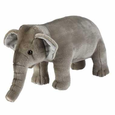 Grijze olifanten knuffels 28 cm knuffeldieren prijs