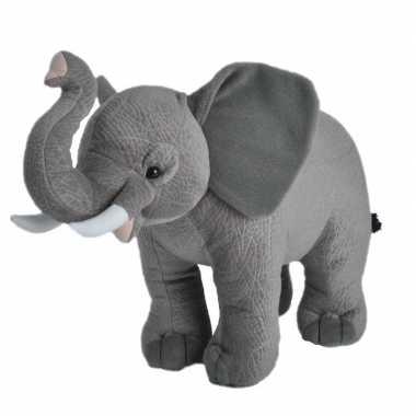 Grijze olifanten knuffels 35 cm knuffeldieren prijs