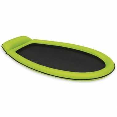 Groen zwembad intex luchtbed/loungebed mesh 178 x 84 cm prijs