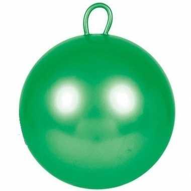 Groene skippybal 70 cm voor jongens/meisjes prijs