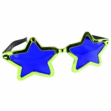 Groene stervormige xl verkleed bril voor volwassenen prijs