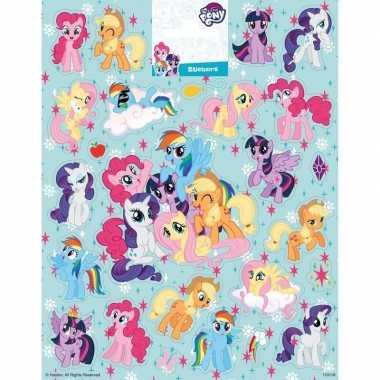 Groot vel met my little pony stickers prijs