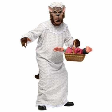 Grote boze wolf sprookjes kostuum prijs