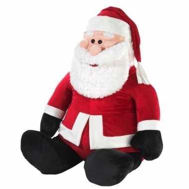 Grote kerstman knuffel 100 cm prijs