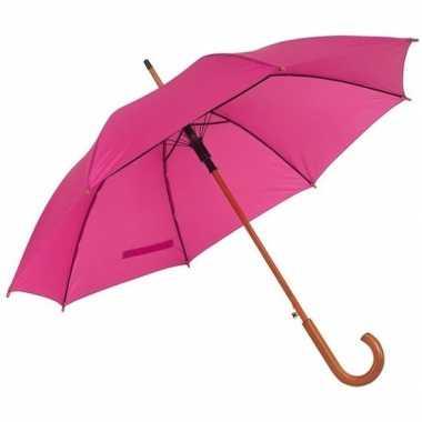 Grote paraplu roze 103 cm prijs