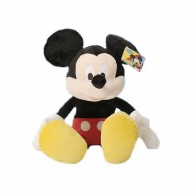 Grote pluche mickey mouse 50 cm prijs