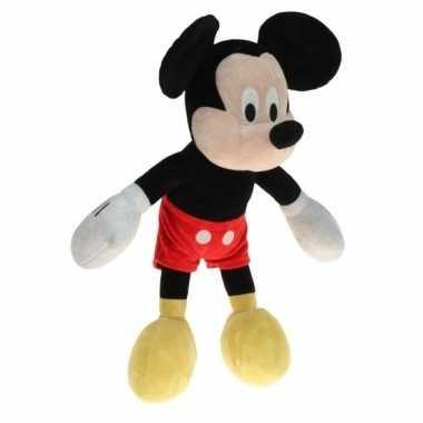 Grote pluche mickey mouse knuffel 40 cm prijs