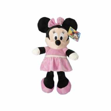 Grote pluche minnie mouse knuffel 50 cm prijs