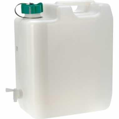 Grote watertank / jerrycan 35 liter voor op de camping prijs