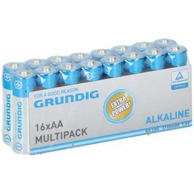 Grundig aa batterijen 16 stuks prijs