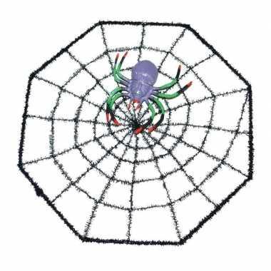Halloween spinnenweb met spin 29 x 29 cm prijs