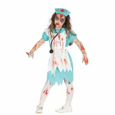 Halloween zombie zusterkostuum voor meisjes prijs