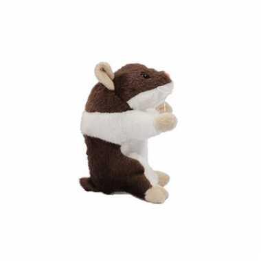 Hamster knuffel van 13 cm bruin prijs