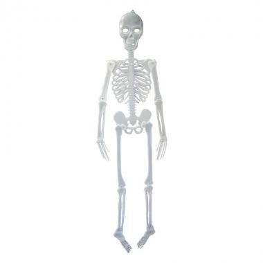 Hangdecoratie skelet 150 cm prijs