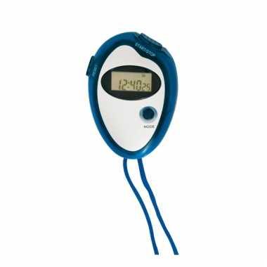 Hardloop stopwatch blauw prijs