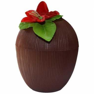 Hawaii beker kokosnoot 250 ml prijs