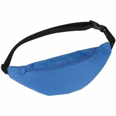 Heuptas/fanny pack blauw met verstelbare band prijs
