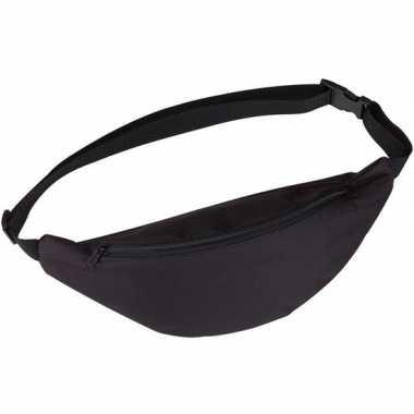 Heuptas/fanny pack zwart met verstelbare band prijs