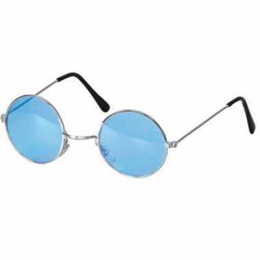 Hippie brilletje blauw prijs