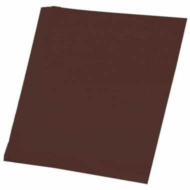Hobby papier bruin a4 100 stuks prijs