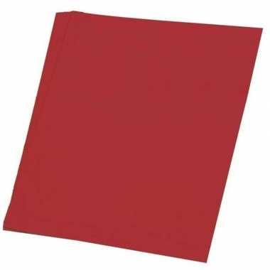 Hobby papier rood a4 100 stuks prijs