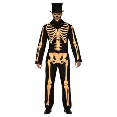 Horror skelet verkleed pak voor heren prijs