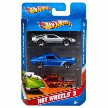 Hot wheels race autos 3 stuks prijs