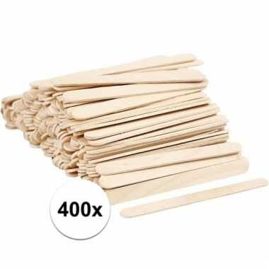 Houten knutselstokjes 400 stuks prijs