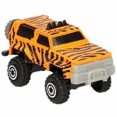 Jeepsafari speelgoed auto tijger print prijs