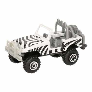 Jeepsafari speelgoed auto zebra print prijs