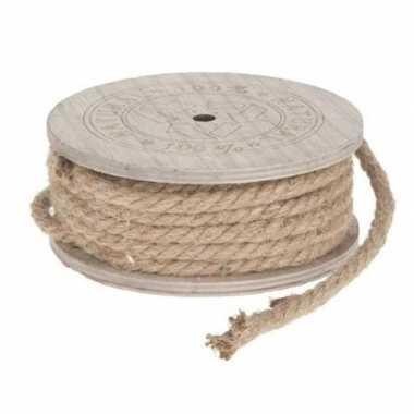 Jute touw op rol 700 cm prijs