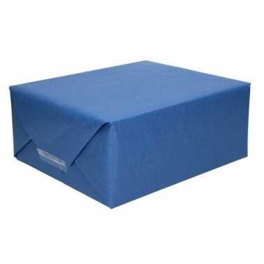 Kaftpapier donkerblauw 70 x 200 cm kraftpapier prijs