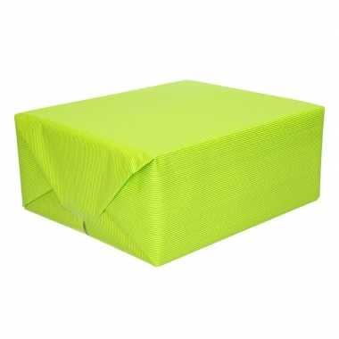 Kaftpapier lime groen 70 x 200 cm kraftpapier prijs