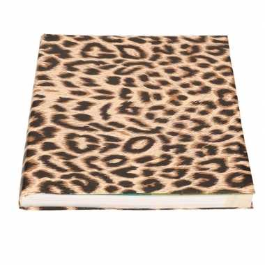Kaftpapier panterprint/luipaardprint 200 cm prijs