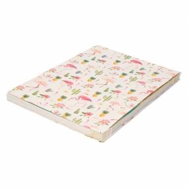 Kaftpapier tropische print 200 cm prijs
