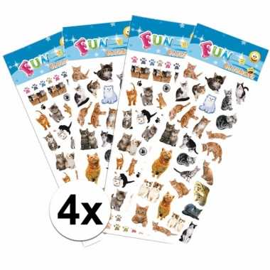 Vergelijk katten thema stickers pakket prijs