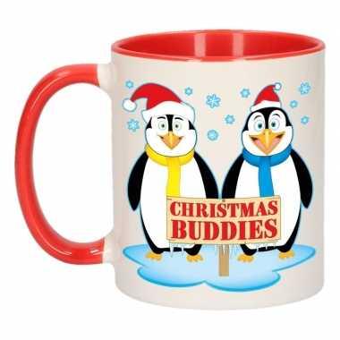 Kerst beker christmas buddies 300 ml prijs