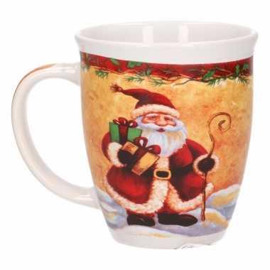 Kerstman mokken 11 cm prijs