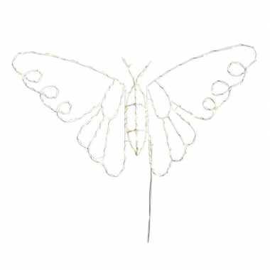 Kerstverlichting vlinder op led verlichting 45 x 25 cm prijs